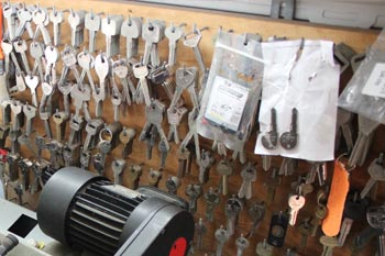 Our multiple key replacements we keep in stock to help our clients with any new keys they may need.